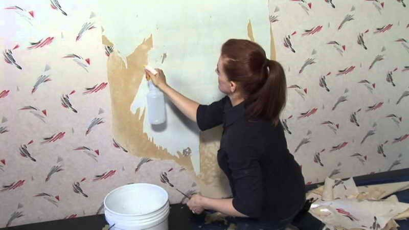 How to Removing Wallpaper Glue How To Remove Wallpaper Glue Residue 800x450