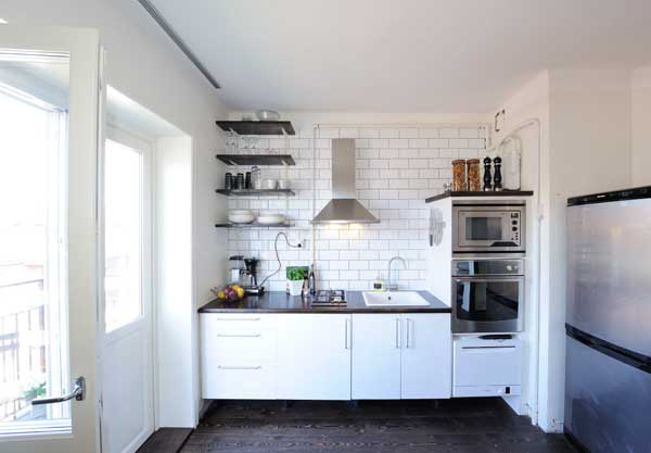 Simple Kitchen Decorating Ideas For Apartment Modern Kitchens 600x417