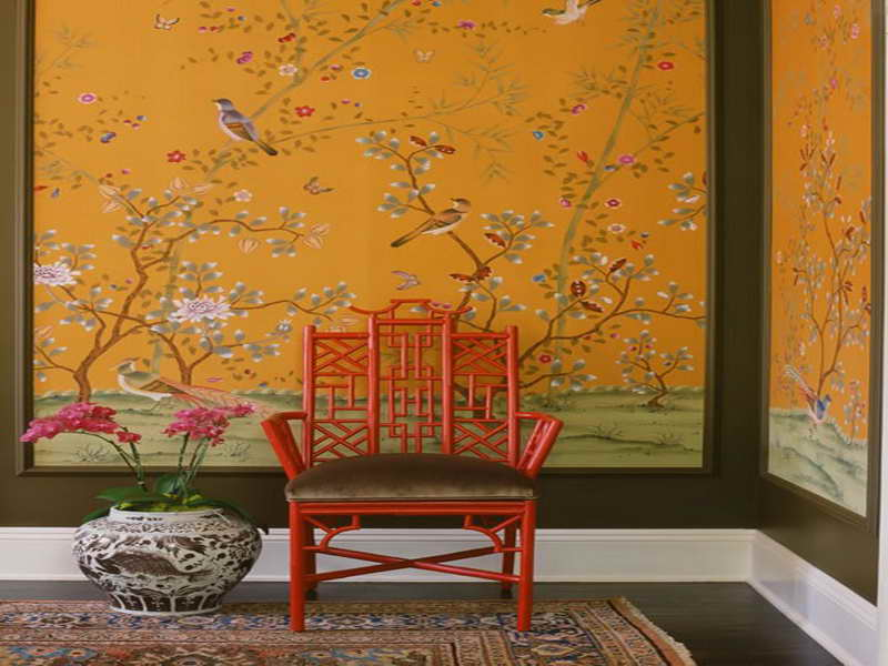 Bird Design Wallpaper for Home Interior Bird Design Wallpaper For 800x600