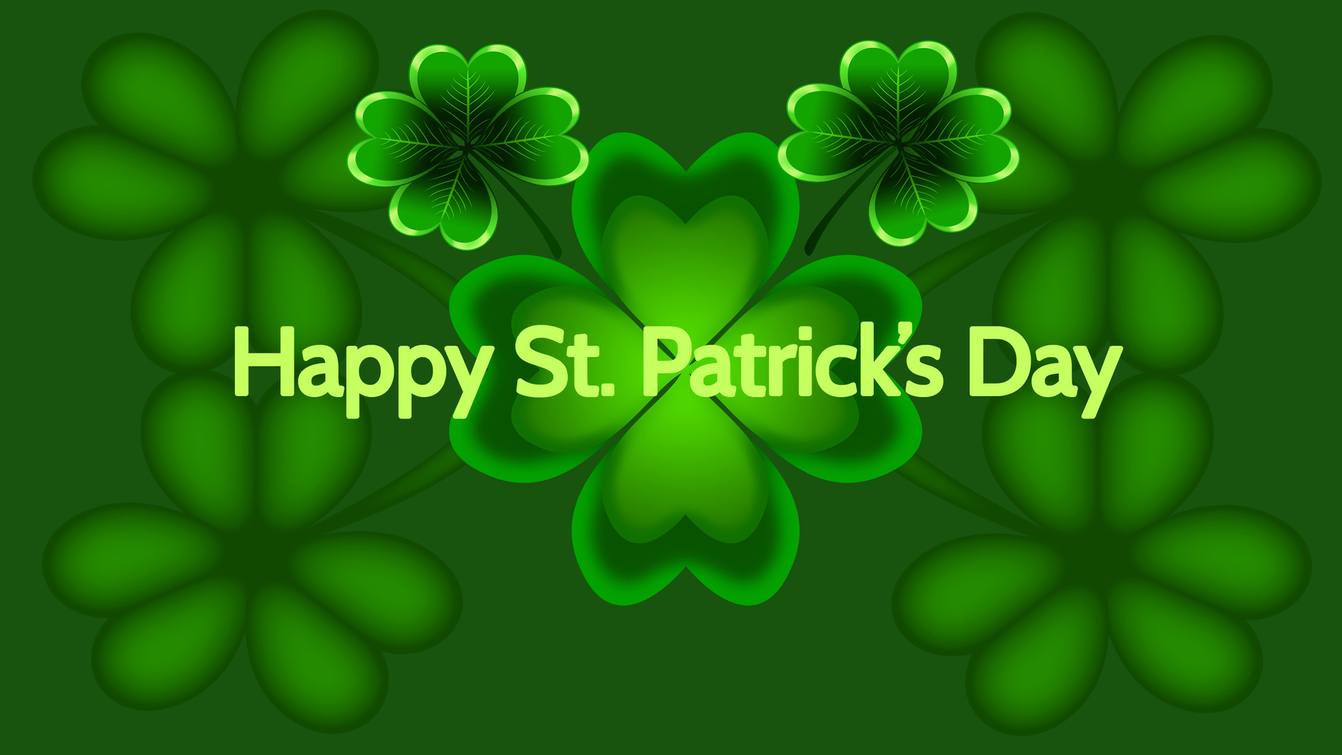 Pics Photos   St Patricks Day Background 1920x1080