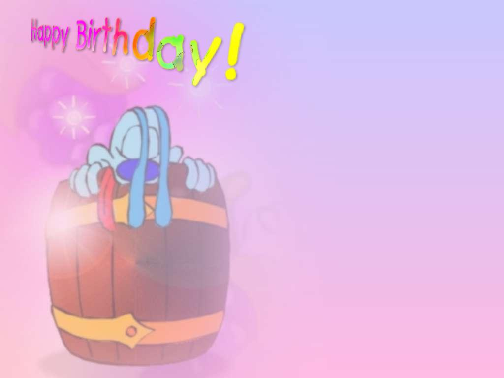 Happy Birthday Background Powerpoint wallpaper Happy Birthday 1024x768