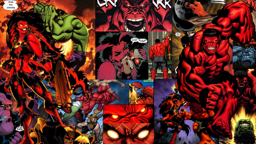Red She Hulk Wallpaper 900x506