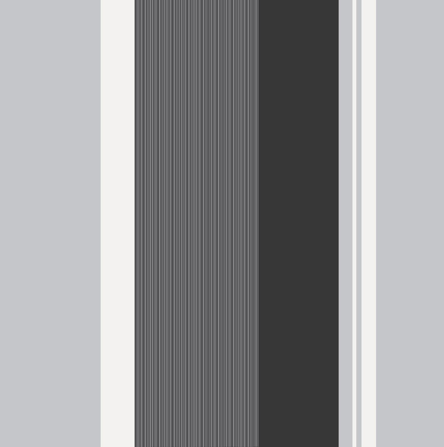 Crown Millie Stripe Wallpaper   M0881   Charcoal   Cut Price Wallpaper 1500x1510