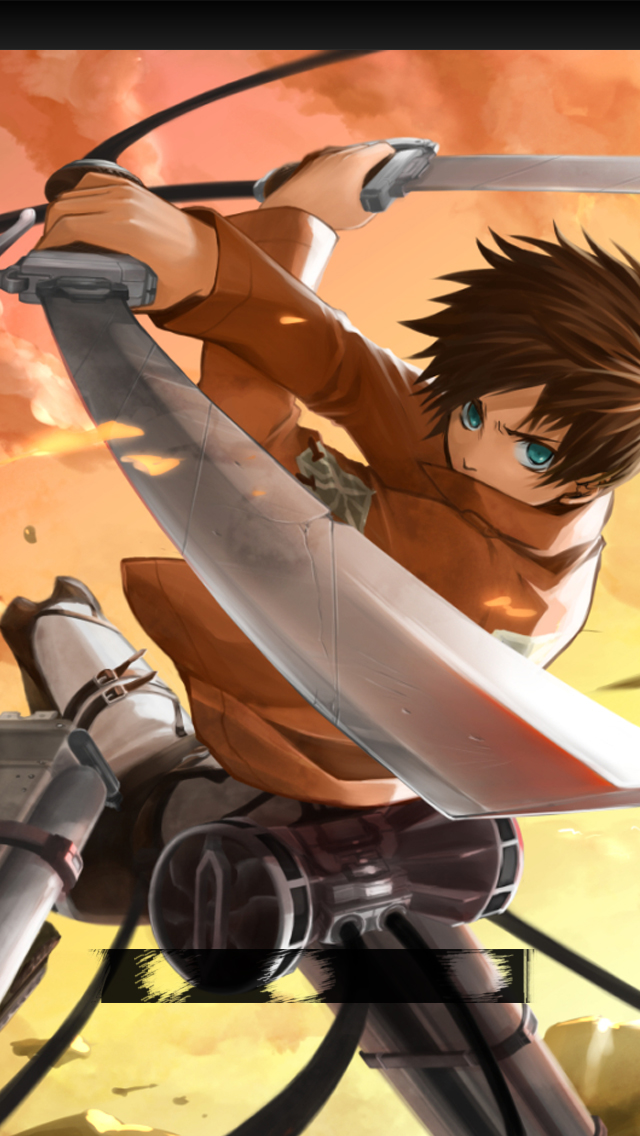 Attack on Titan Mikasa Iphone Wallpaper Attack on Titan Iphone 55s 640x1136