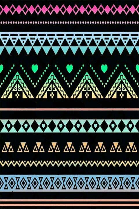 Aztec Print Wallpaper on WallpaperSafari
