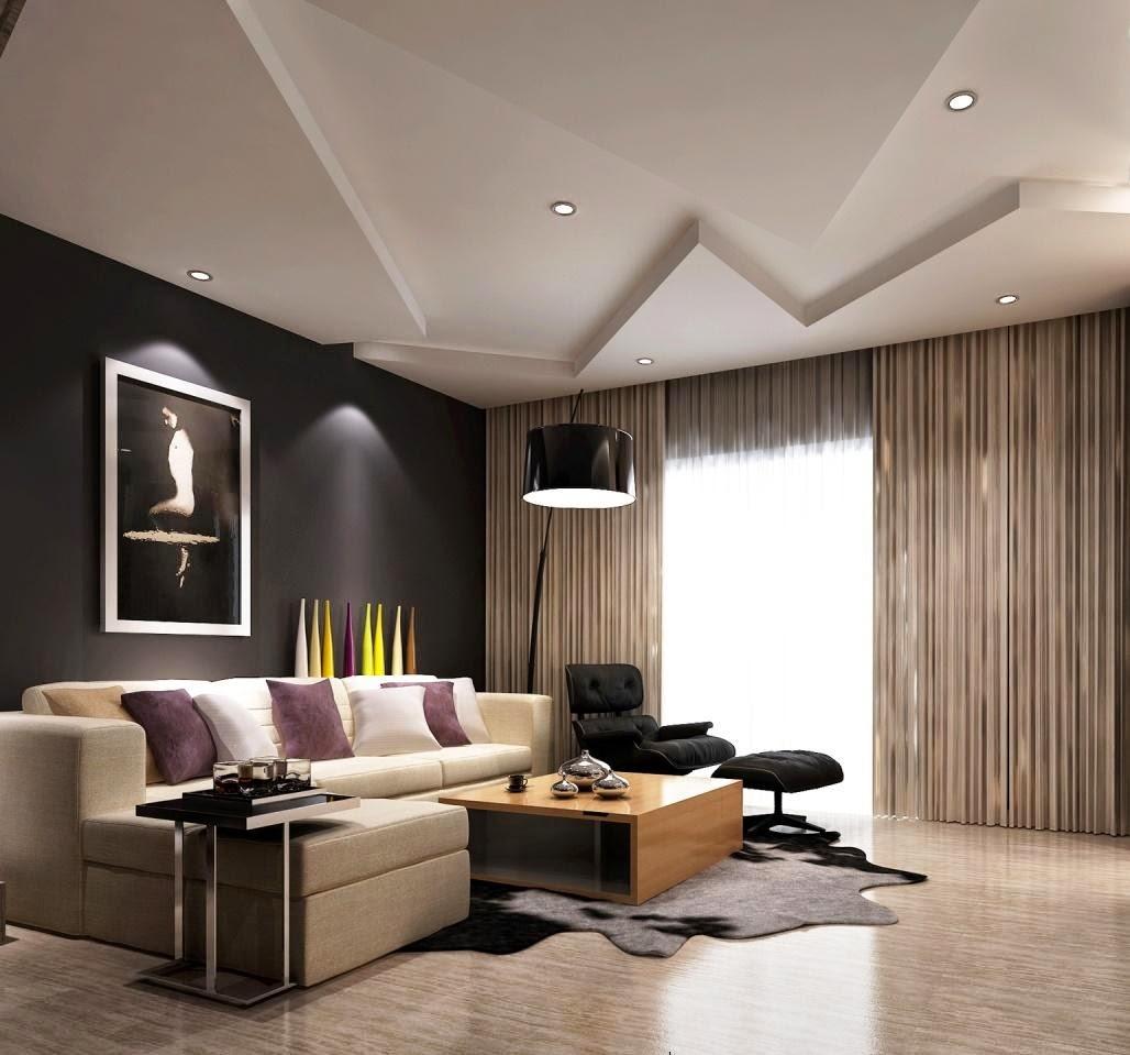 Modern Design Wallpaper Living Room