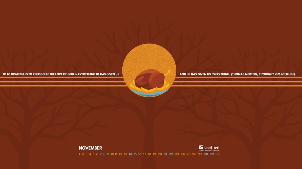 Wallpaper Download: November 2015 - Seedbed