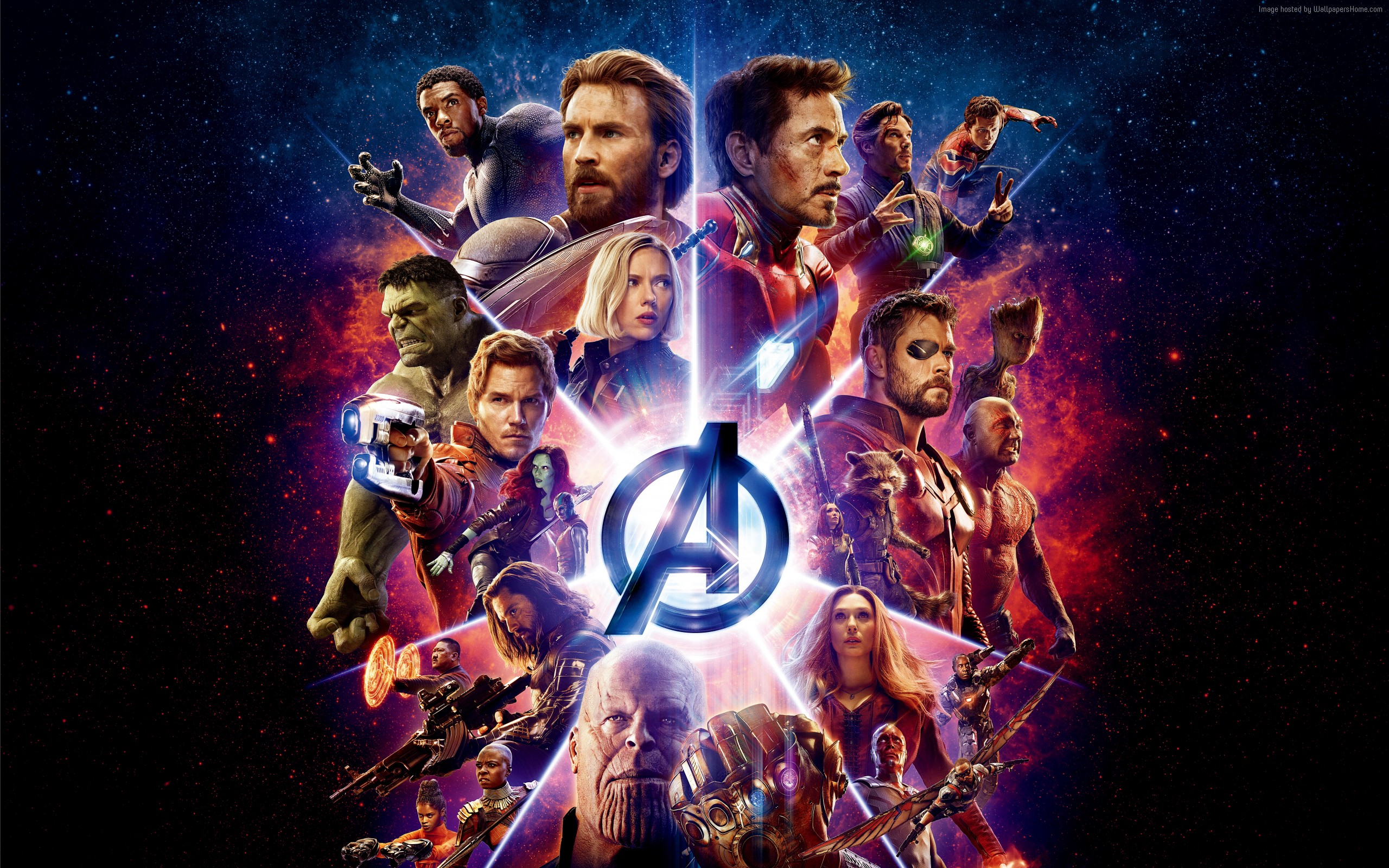 Wallpaper Avengers Infinity War Marvel All heroes Desktop 2560x1600