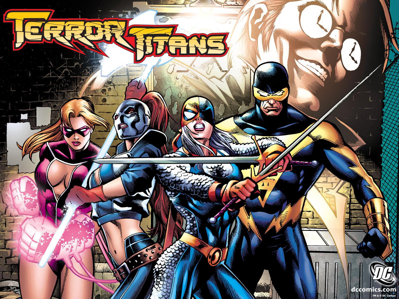 Terror Titans   DC Comics Wallpaper 4206786 1600x1200