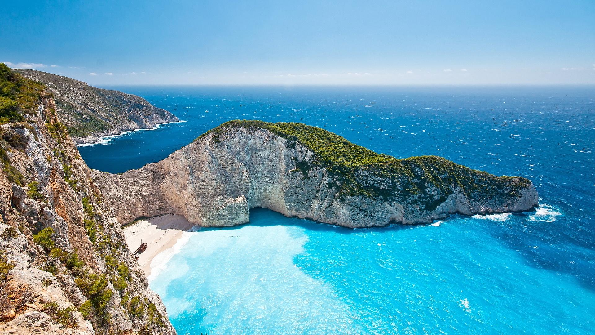 Zakynthos Island Beach 6981227 1920x1080