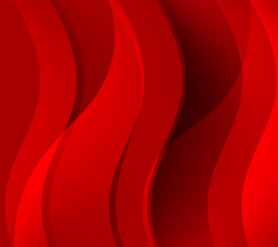 Hd wallpaper android mobile - Red Waves Android Hd Wallpaper