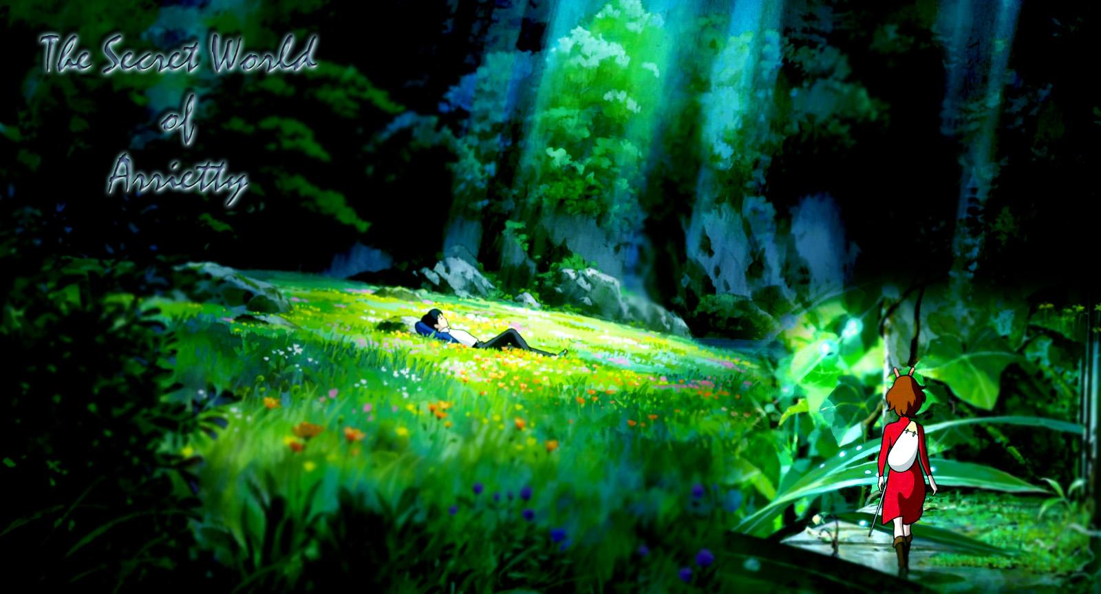 The Secret World of Arrietty Wallpaper by Sasori640 1600x863