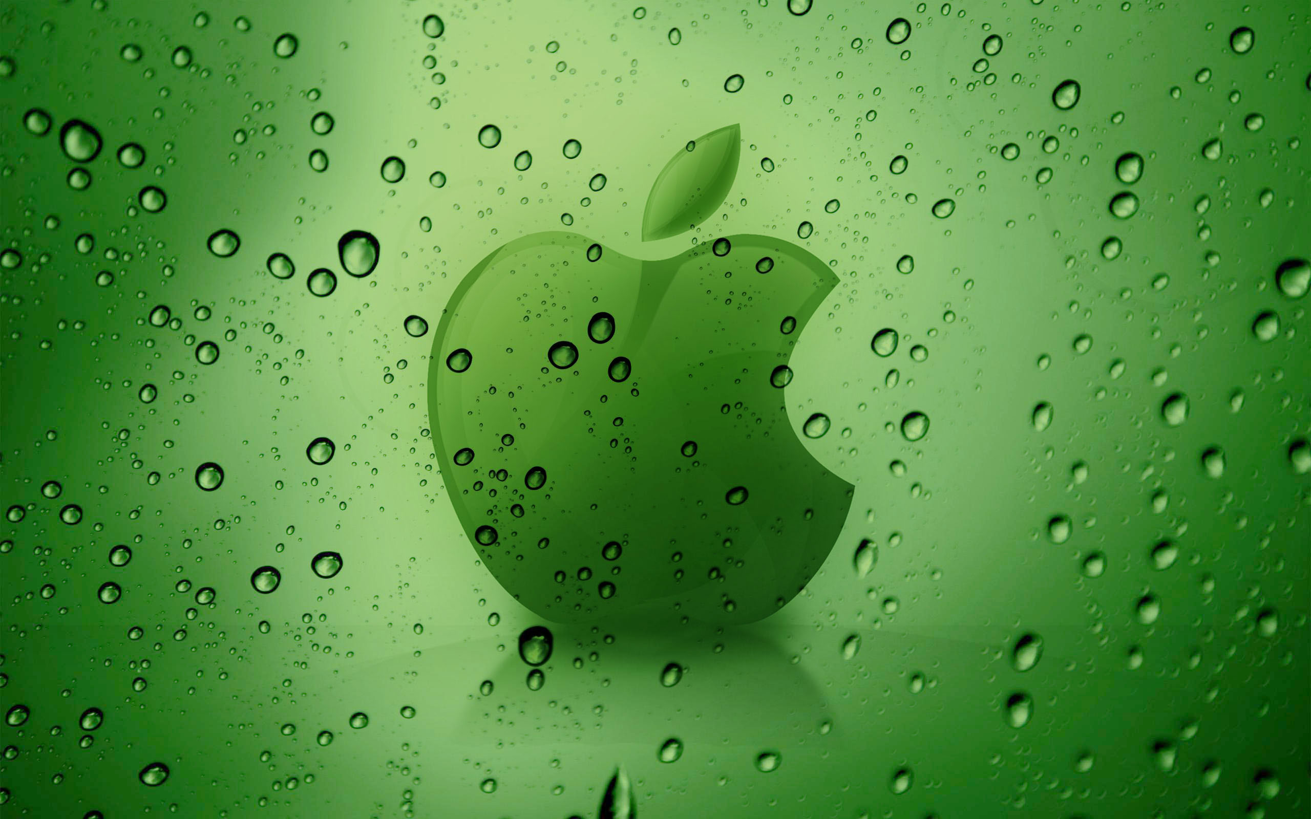 Fresh Dew apple desktop pictures wallpaper High Quality 2560x1600