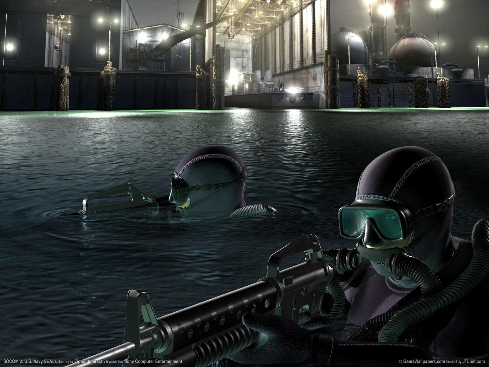 1600x1200 SOCOM 2 Navy Seals desktop PC and Mac wallpaper 1600x1200