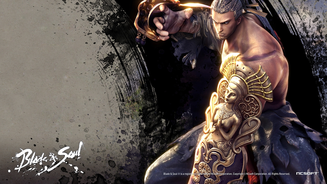 Just Walls Blade and Soul Wallpaper 1366x768
