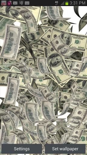 falling money live wallpaper wallpapersafari