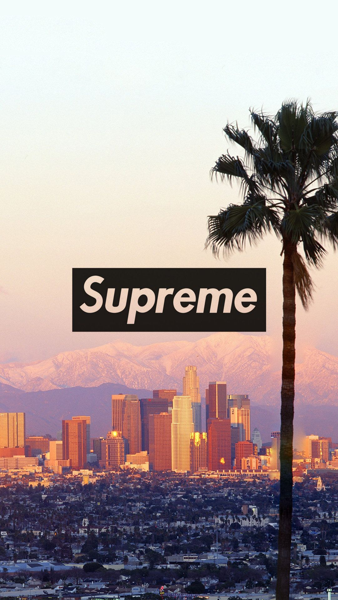 Supreme Los Angeles   Tap to see more of the Supreme wallpapers 1080x1920