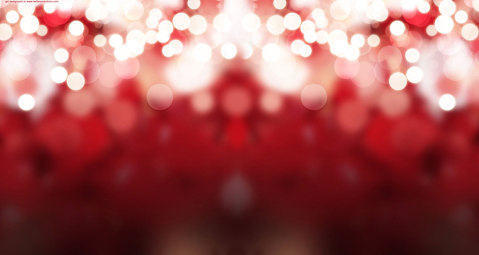 Red Christmas lights Twitter background   Twitterevolutions 1920x1024