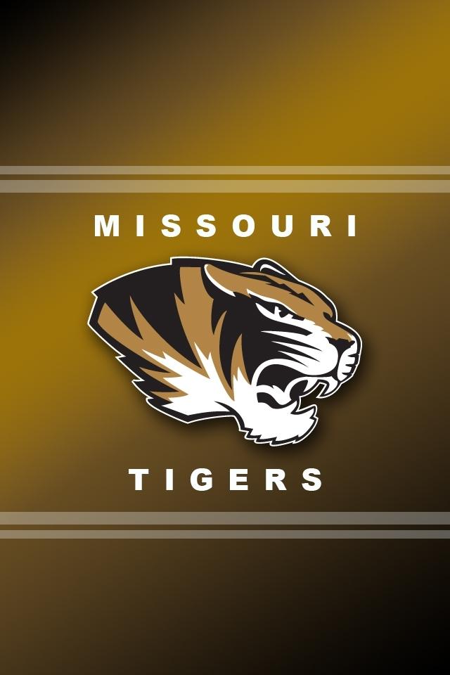 Missouri Tigers Logo iPhone 4s Wallpaper 640x960