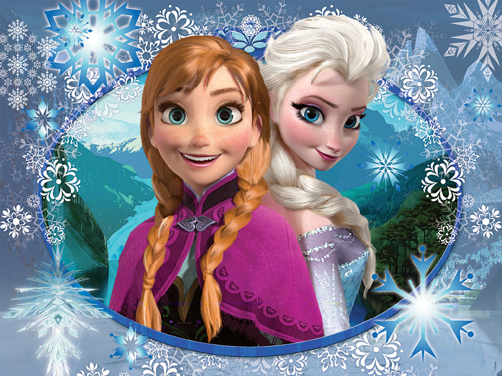 49 Elsa And Anna Wallpapers On Wallpapersafari