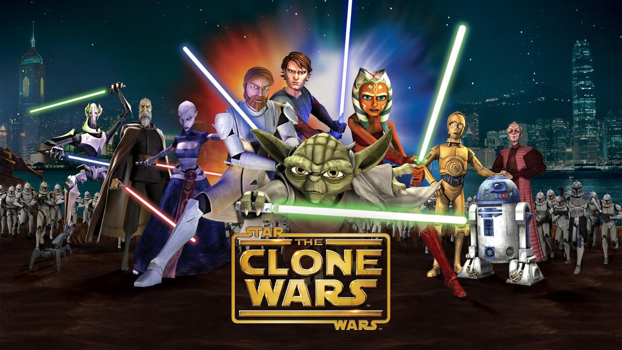 Star Wars Clone Wars Wallpaper 1280x720