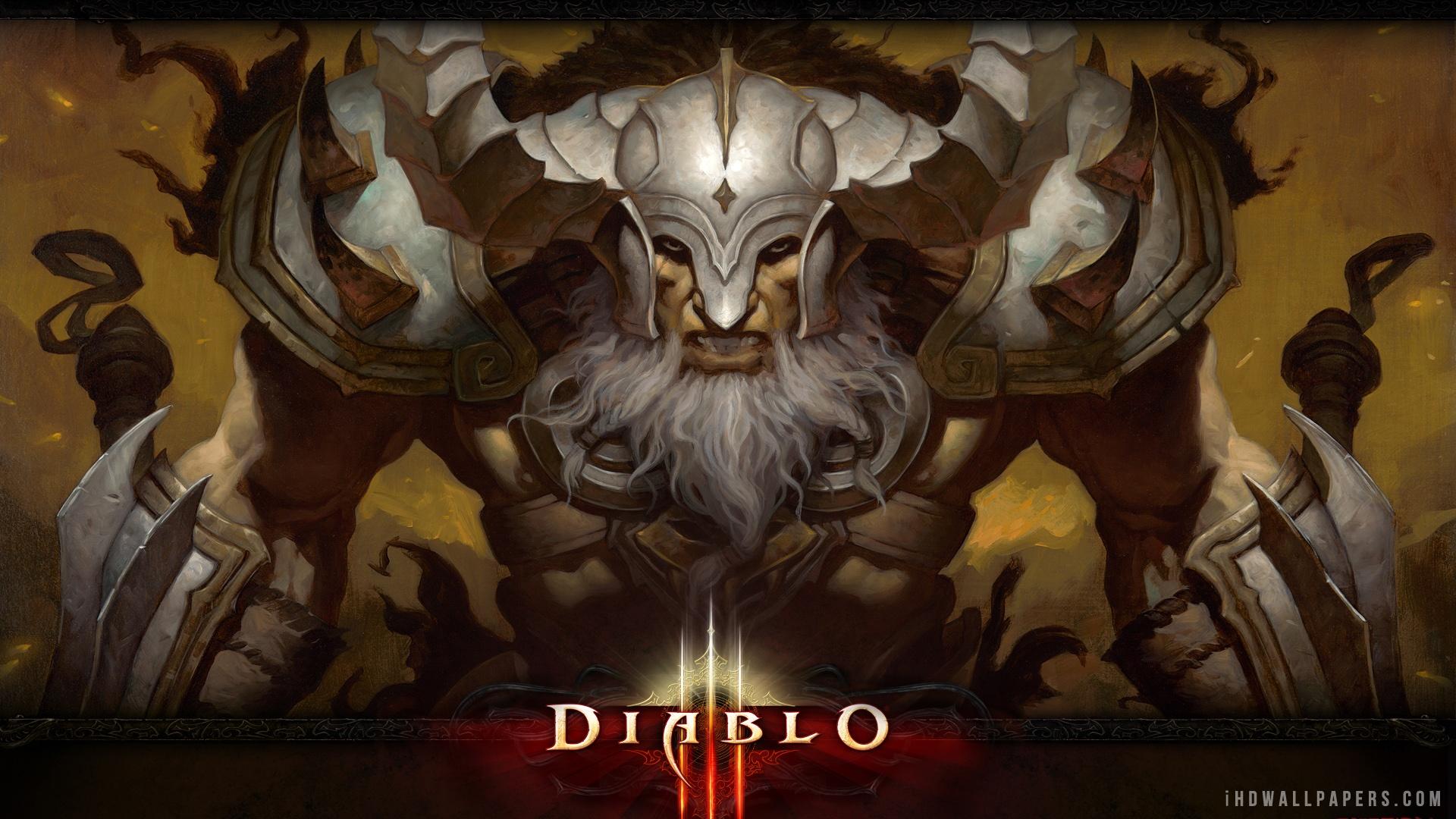 Barbarian Diablo III HD Wallpaper   iHD Wallpapers 1920x1080