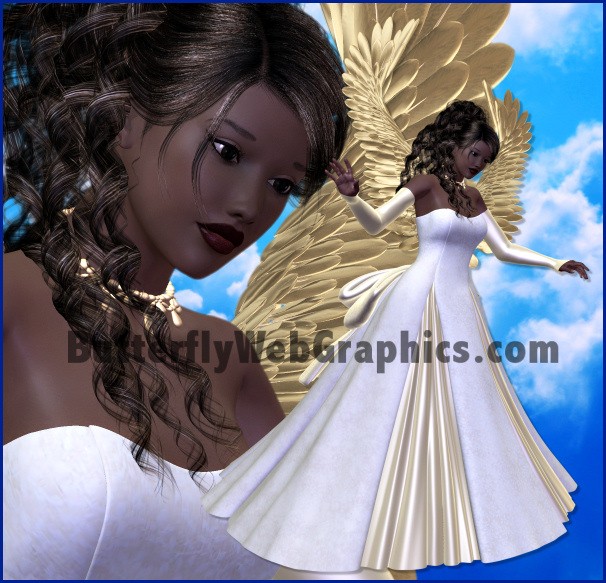 Angel Clipart - Free Graphics of Cherubs and Angels