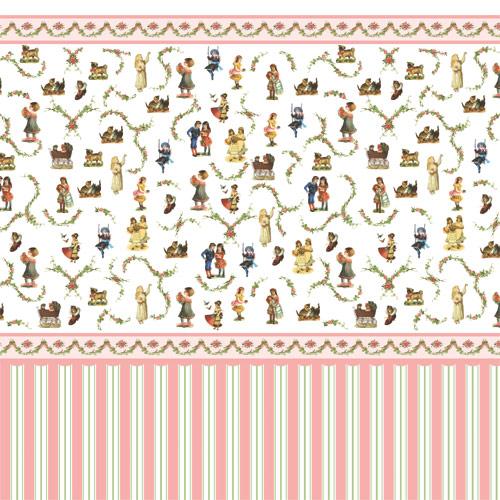 Wallpaper 5193 Victorian Nursery Wallpaper 500x500