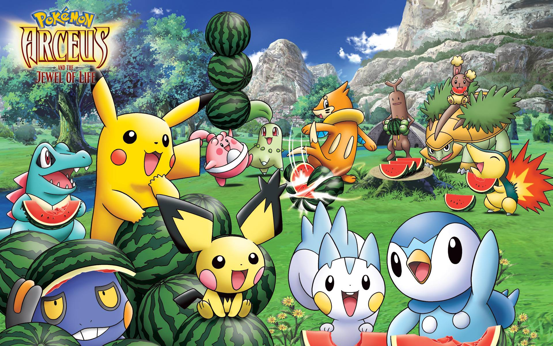 All Pokemon Wallpapers 1920x1200