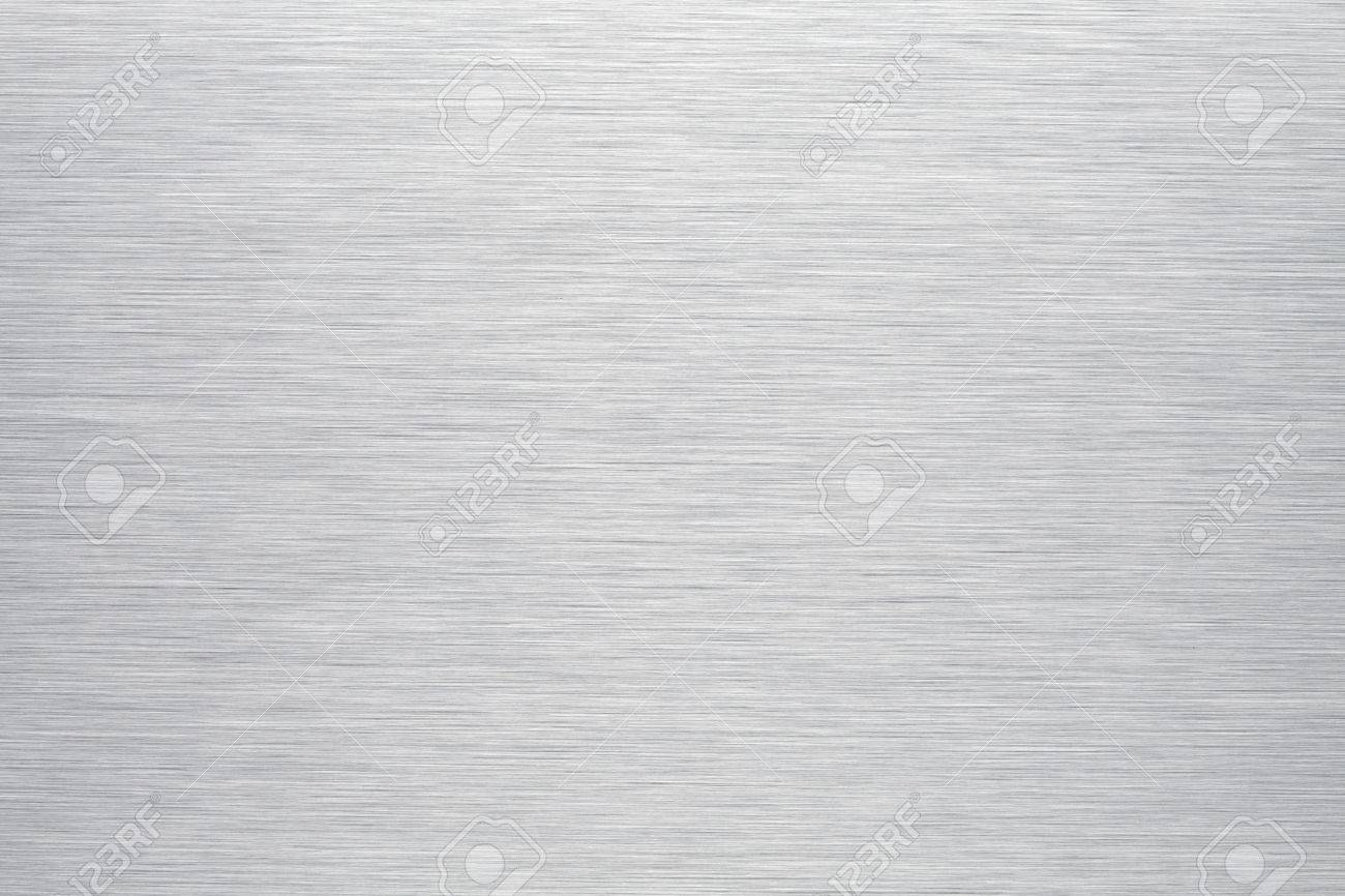 Brushed Aluminum Background Or Texture Stock Photo Picture And 1300x866