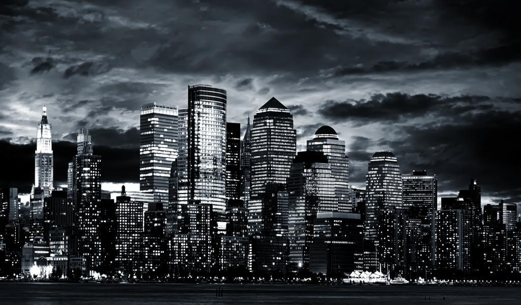 amazing new york city manhattan skyline usa wallpapers55com   Best 1024x600