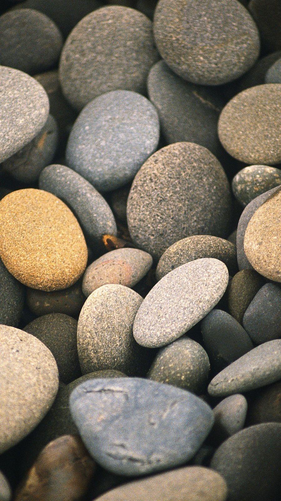 Minimalistic Nature Pebbles iPhone Wallpaper Stone wallpaper