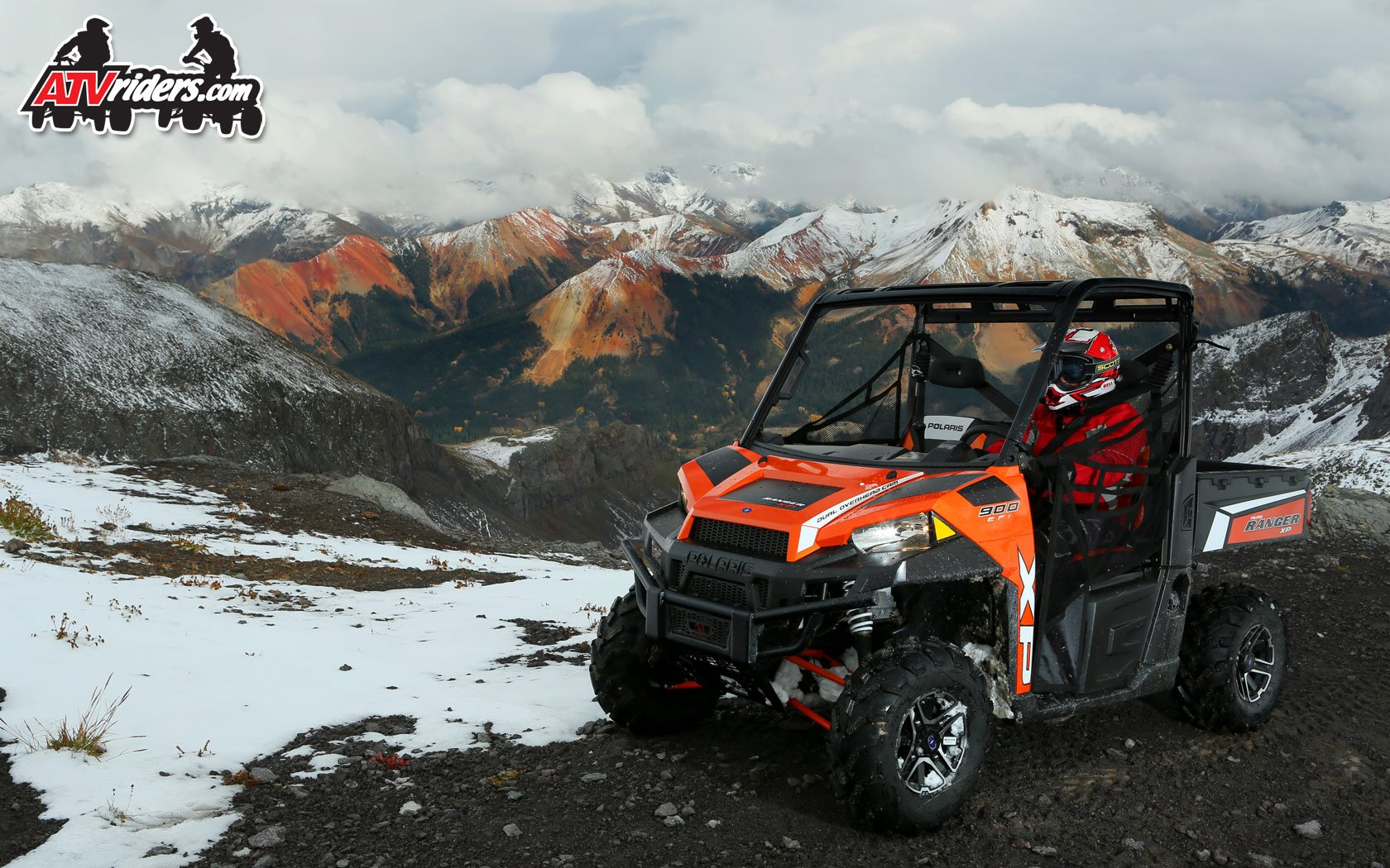 2013 Polaris RANGER XP 900 SxS UTV   Red Mountains Colorado 1680x1050