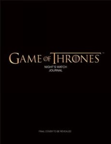 Game of Thrones the Nights Watch Hard WHSmith Books 230x298