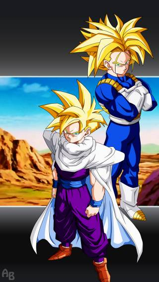 Dragon Ball Z Iphone Wallpaper Trunks   HD Wallpaper Gallery 320x568