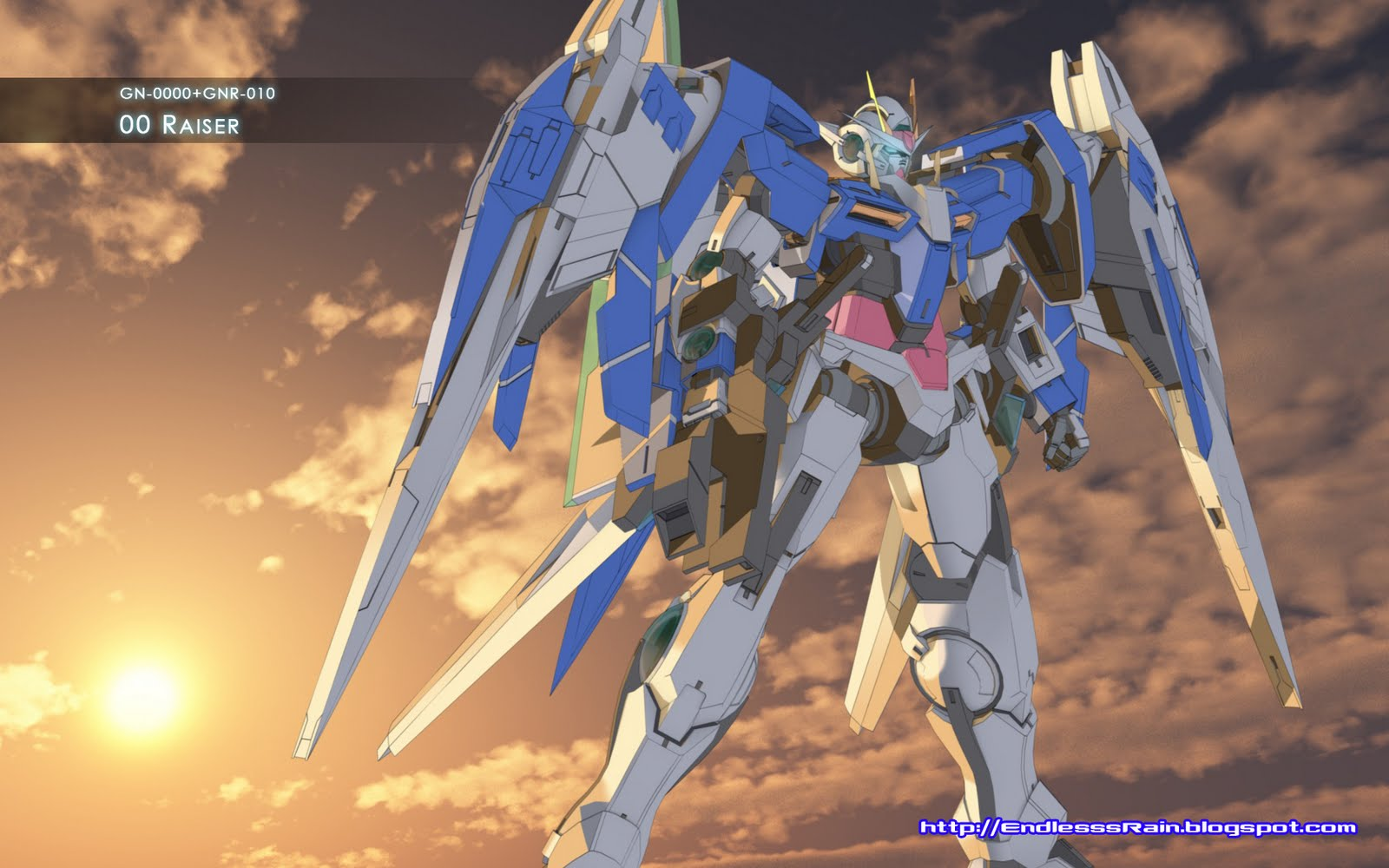 78 Gundam 00 Raiser Wallpaper On Wallpapersafari