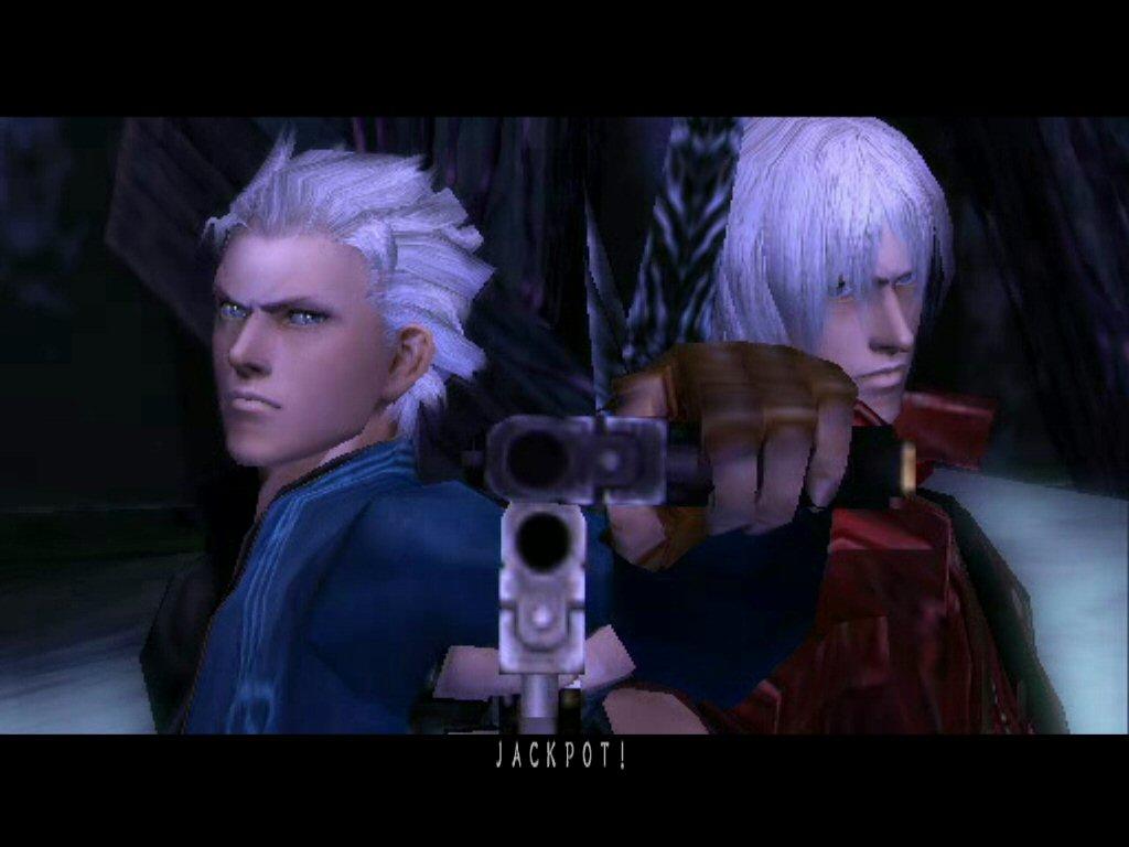 Devil May Cry Black Capcom Dante HD wallpaper 1024x768