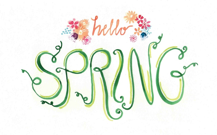 Image result for hello spring graphic
