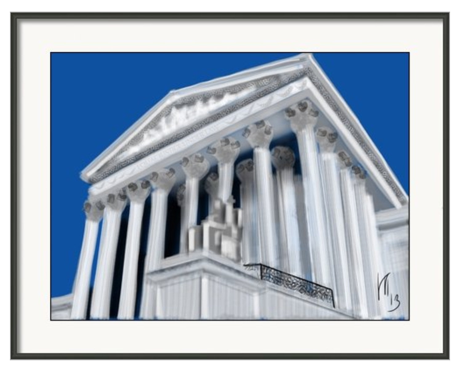 Supreme Court Washington DC Art collectibles wall art 1488x1203