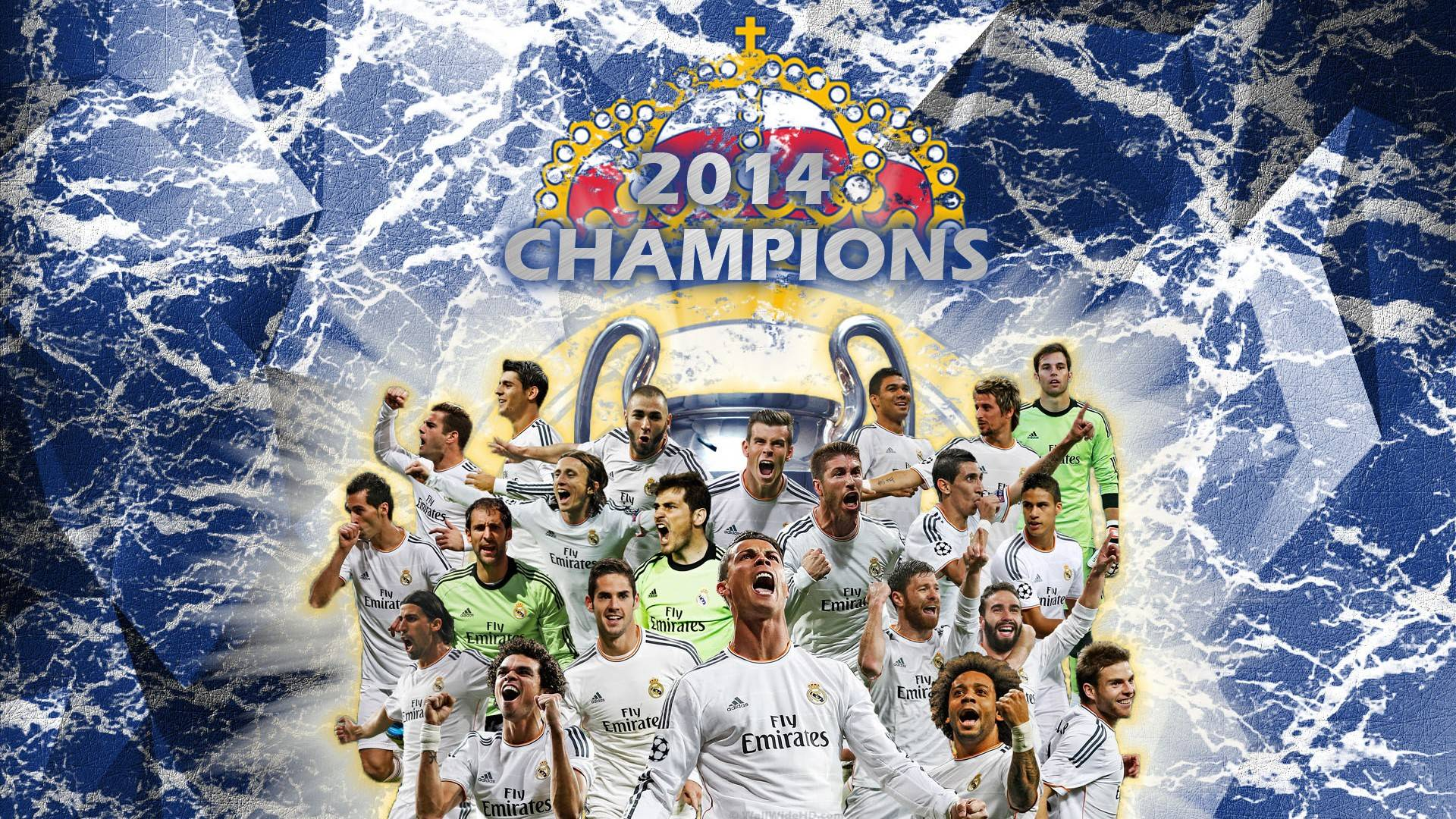 Free Real Madrid 2015 Wallpapers 3d [ ] For