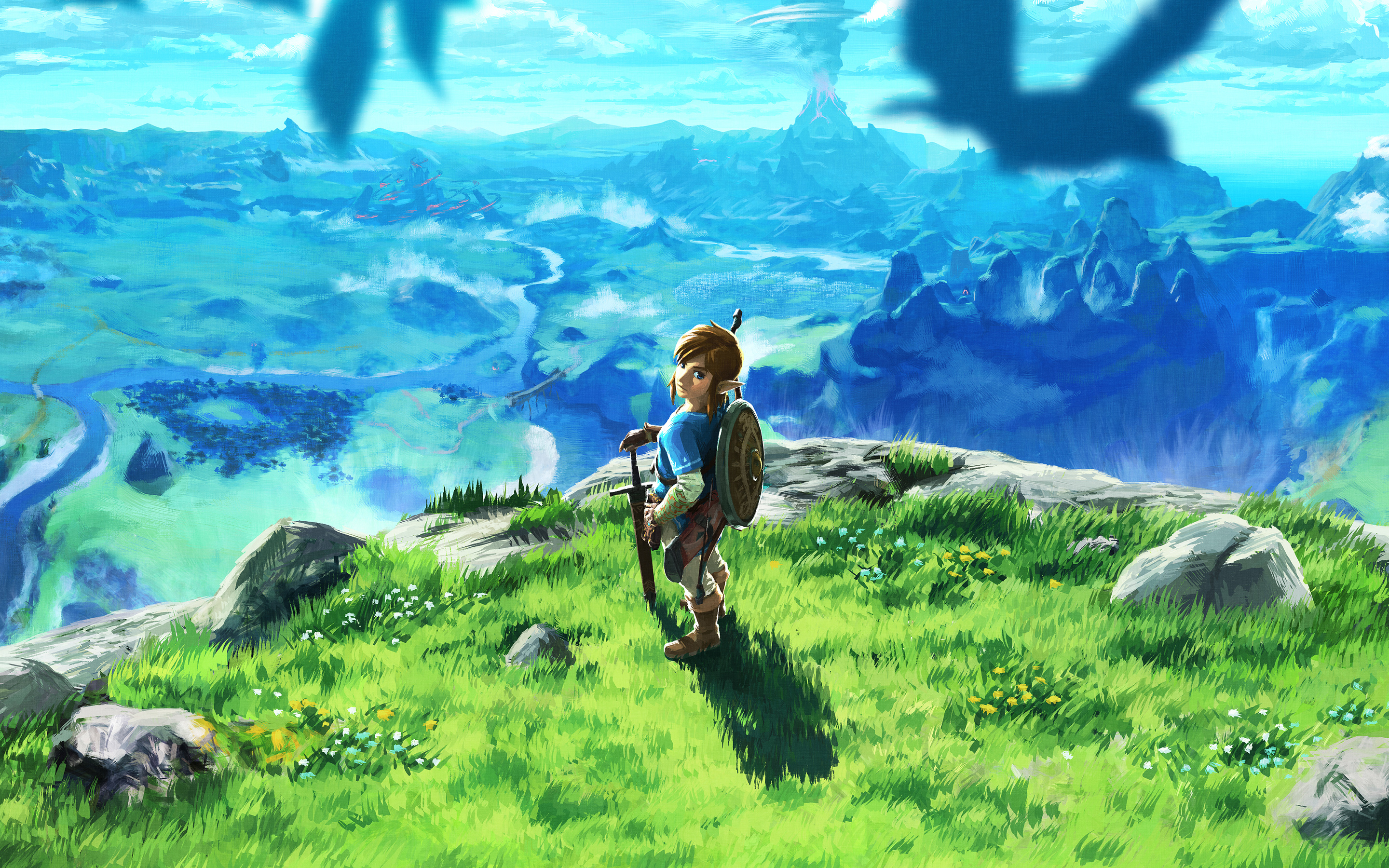 Free Download The Legend Of Zelda Breath Of The Wild Hd Wallpaper
