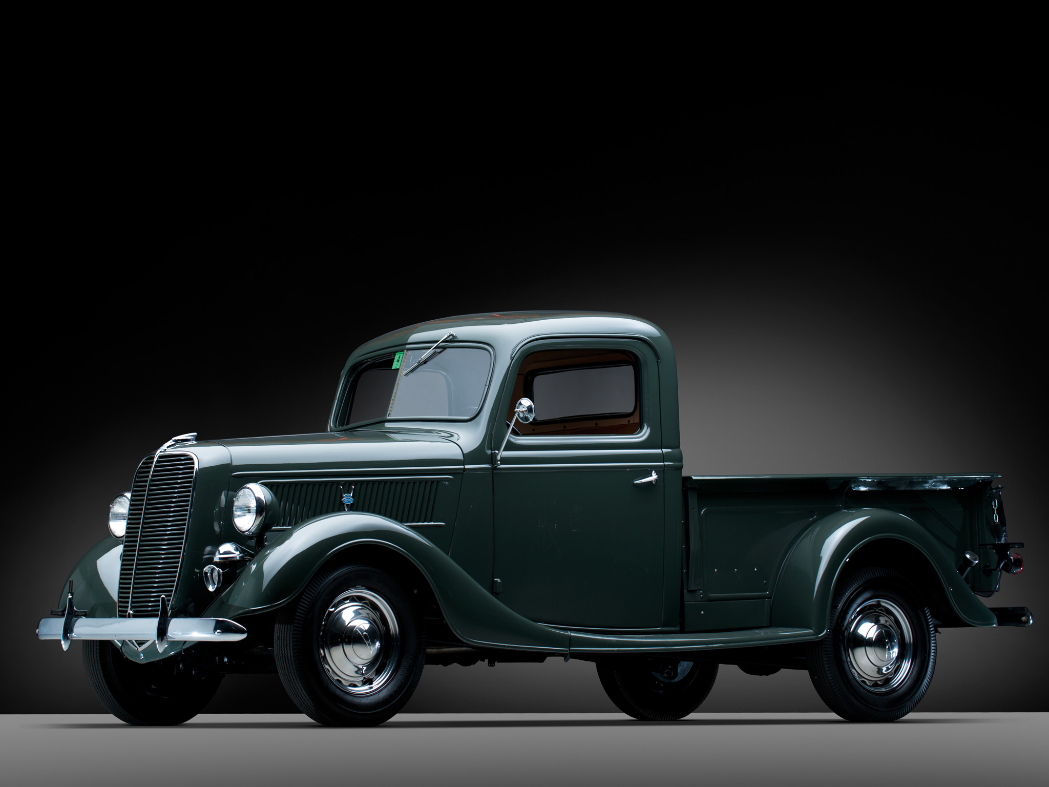 1937 Ford V8 Deluxe Pickup truck retro v 8 h wallpaper 2048x1536 2048x1536