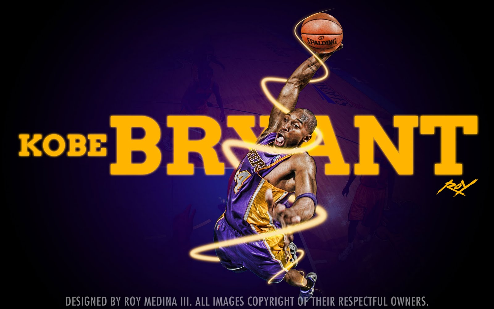 Kobe Bryant   Lakers 2011 Dunk Widescreen Wallpaper Big Fan of NBA 1600x1000