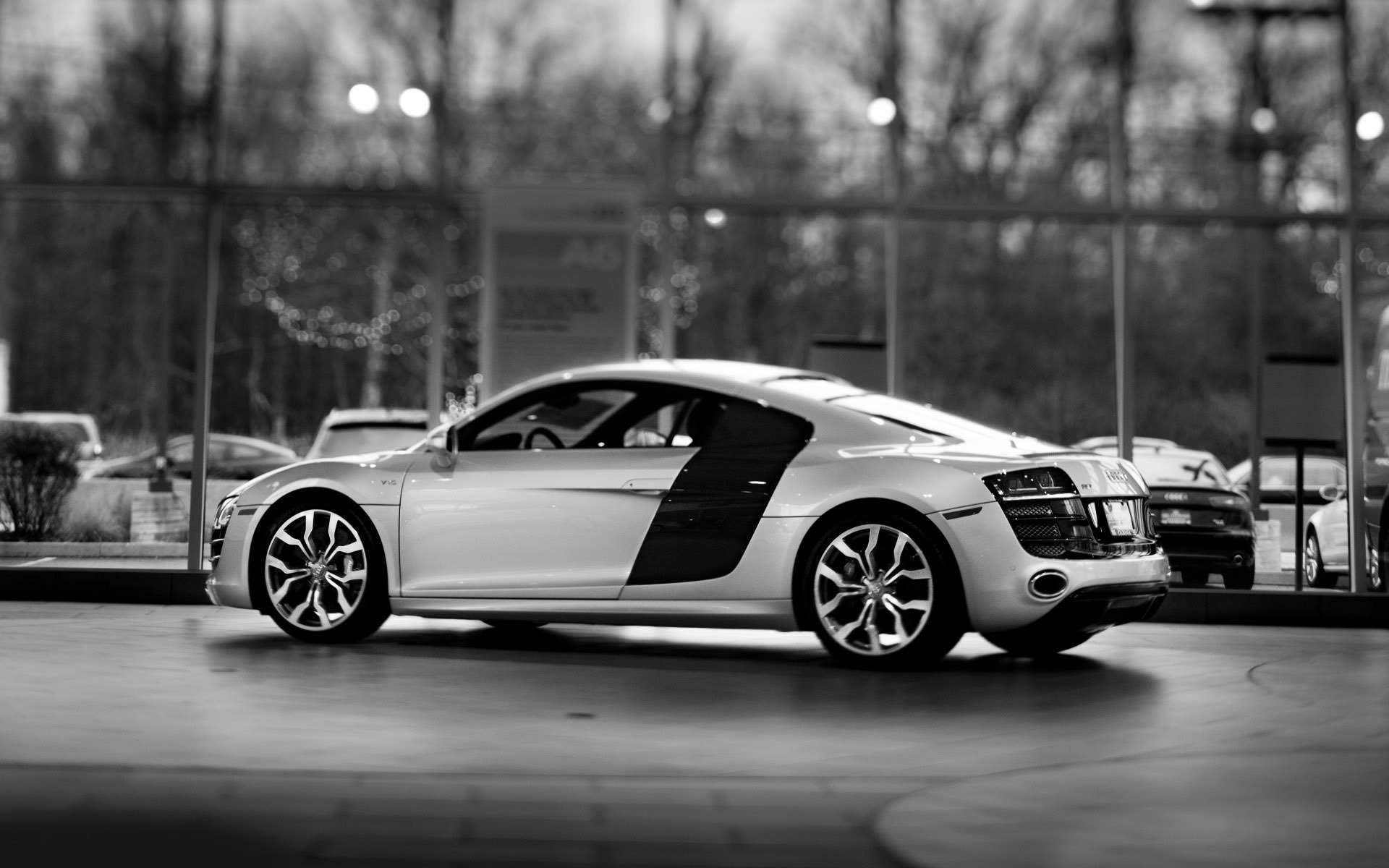 Audi R8 V10 wallpaper 1920x1200