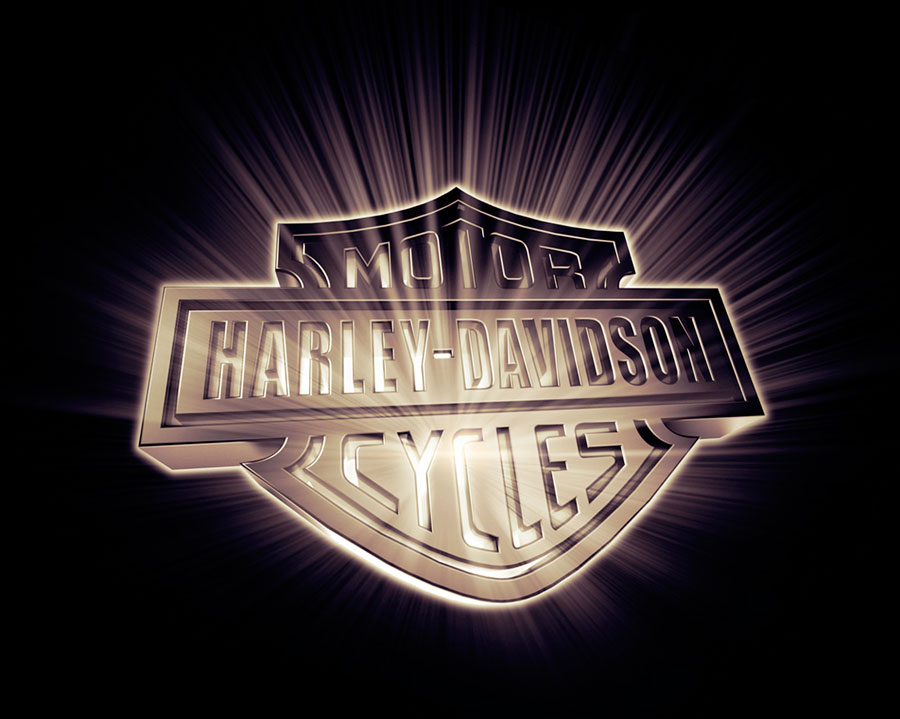 Harley Davidson Motor Cycles  3D generated image 900x719