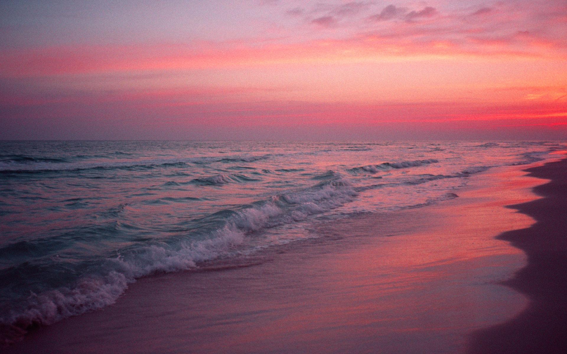 Seaside Sunset Pictures Scenic Desktop wallpaper 1920x1200