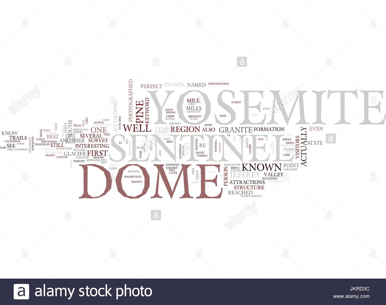 YOSEMITE SENTINEL Text Background Word Cloud Concept Stock Vector 1300x1028