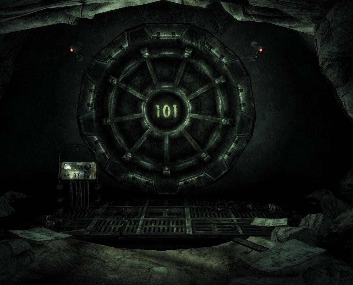 MTKs Card Craft Fallout Vault Gear Door Part 1 of Vault Diorama 1223x987