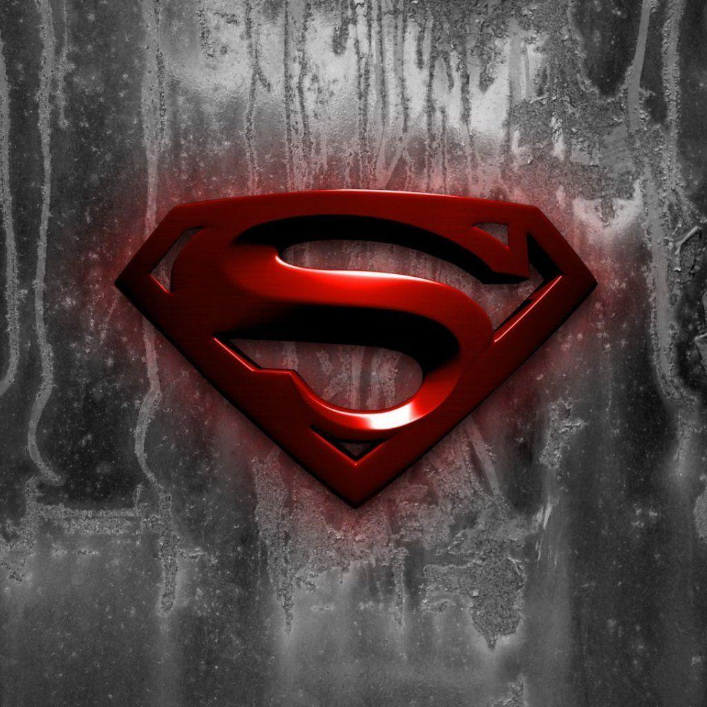 New Superman Logo Wallpapers 1024x1024