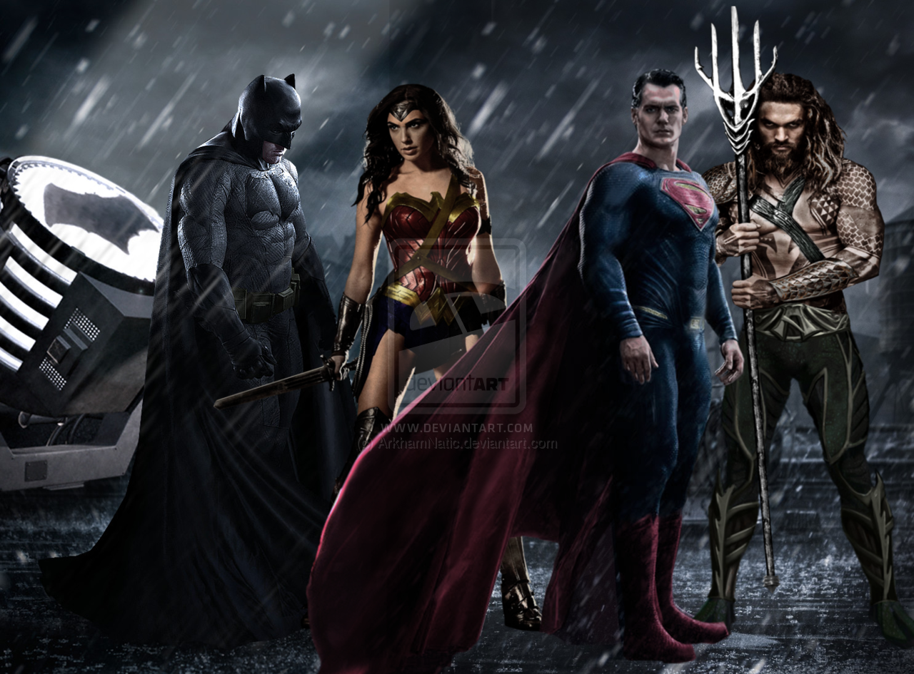 Batman vs Superman Dawn of Justice poster by ArkhamNatic 1280x945
